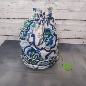 NWT Vera Bradley/ Ditty Bag in Mediterranean White